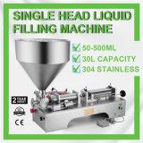 Pneumatic Filling Machine 50-500ml Semi-Auto Single Head Liquid Filling