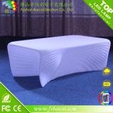 Commercial Plastic Modern Restaurant LED Tea Table