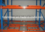 Customized Steel Mobile Push Back Racking for Warehouse Storage