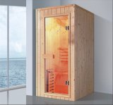 900mm Rectangle Solid Wood Sauna for Single Person (AT-8631)