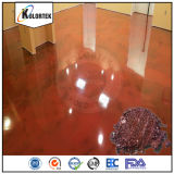 Metallic Epoxy Pigments for Coloring Floors