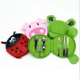 Manicure Set with PU Pouch Cartoon Nail Clipper Set