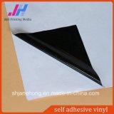 Black Glue Self Adhesive Vinyl for Car Body Decoration/ Printing Material