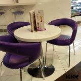 Kkr Solid Surface Dining Table Round Table
