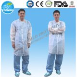 Paper Lab Coats Nonwoven Microporous Lab Coat