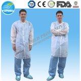 Paper Lab Coats Nonwoven Microporous Lab Coat