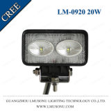 4.3 Inch Bridgelux 2*10W Car LED Work Light 20W Offroad