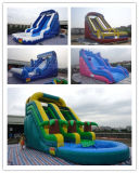 Commercial Grade Inflatable Water Slide with Pool