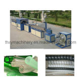 Plastic PVC Fiber/Spiral Steel Wire Reinforced Hose/Pipe Extrusion Line (TKG63)