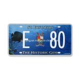 St Eustatius License Plate (JS00StE)