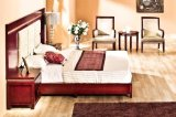 5 Star Hotel Bedroom Furniture with Golden Leaf (LX-TFA003)