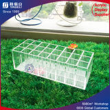 Clear Acrylic Step-Tiered 36 Lipstick Organizer Rack