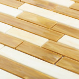 Floor Tile Borders Ultra-Low Water Absorption Glass Mosaic on Sale