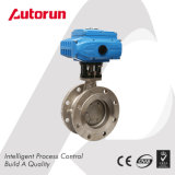 Three Eccentric Electric Hard Seal Flange Butterfly Valve