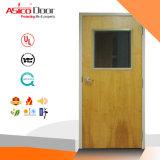 BS Certified Solid Wooden Fire Proof Door for Apartment (main safety door design)