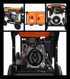 5kw Diesel Generator Set with Low Costs (Big Wheels)