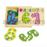 Wooden Number Puzzle (80968)