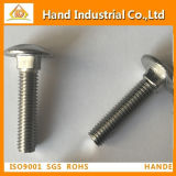 Stainless Steel Bolt DIN603 Fastener Round Head Square Neck Bolts