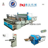 Automatic Embossed Gumming Kitchen Towel Roll Processing Rewinder