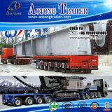 Abnormal Shape Cargo Concrete Bridge Beam Transportation Equipment