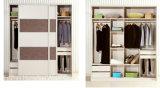 Wooden 2.1 M Custom Sliding Wardrobe Closet (HH2011-2.1C)