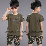 Summer Children′s Cotton Casual Suit T-Shirt and Shorts