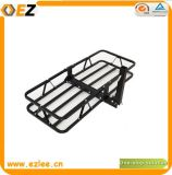 Hitch Mounted Cargo Carrier Foldable Basket Square Rack