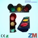 New Design High Flux LED Flashing Traffic Light / Traffic Signal with Convex Lens