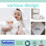 GOST Certificated Muslin Square 100% Cotton White Swaddle Blankets