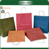 OEM Promotional Colorful Custom Printing Brown Paper Bag