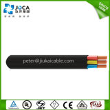 Low Voltage Flat Submersible 600 V 12AWG Power Pump Cable
