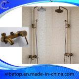 Antique Shower Faucet Three Function Shower Set