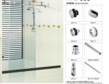 Glass Door Fitting Sliding Door Hardware Bathroom Accessories
