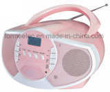 Portable CD MP3 Player Boombox with FM USB SD