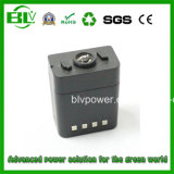 Military Walkie-Talkie Battery 14.4V, 5.2ah or 6ah Rechargerable Battery Li-ion Battery Pack with Samsung Battery or