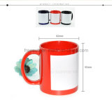 Freesub White Patch Coated Color Mug for Heat Transfer (SKB07)
