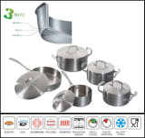 High Quality 3 Ply Induction Cookware