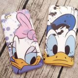 Printed Cartoon IMD Case for iPhone