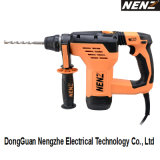 120/230V Rotary Hammer Used on Drilling Concrete, Wood and Steel Plate (NZ30)