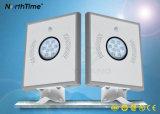 8W Garden LED Solar Street Lamp with Infrared Motion Sensor