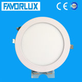 Recessed Mounted Round LED Panel Light 12W