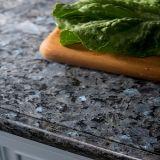 Natural Blue Pearl Stone Tile Blue Granite for Coutertop/Slab/Backsplash