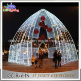 Outdoor Christmas Decoration Arch Motif Lighting for Square