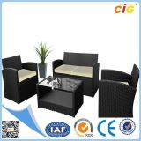 New 4 PCS PE Rattan Outdoor Furniture Set