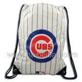 Reusable Promotional Nylon Gym Bag, Drawstring Backpack Shopping Bag, Fitness Sling Bag, Sports Rucksack Gymsack, Gymbag Gym Sack