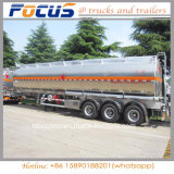 Focus-40kl China Manufacturer Aluminum Oil Fuel Tanker Semi Trailer