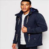 2016 Men′s Fashion Cotton Winter Hooded Parka Jacket