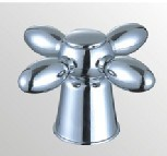 Faucet Handle in ABS Plastic With Chrome Finish (JY-3058)