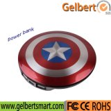 New Captain America External Portable Power Bank