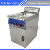 46L Large Capacity Floor Type Commercial Gas Fryer